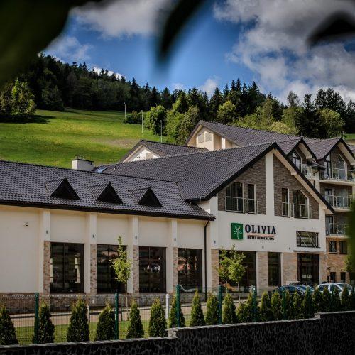 Hotel Olivia Medical Spa przód